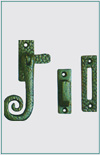 CURLY HANDLE CASEMENT FASTENER