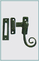 CURLY TAIL CASEMENT FASTENER