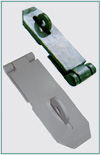 HEAVY SAFETY HASP & STAPLES (HARDENED)