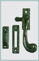 SOLID HANDLE CASEMENT FASTENER